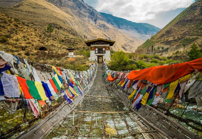 how to enter bhutan