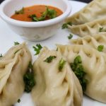Cabbage Momos with ezay